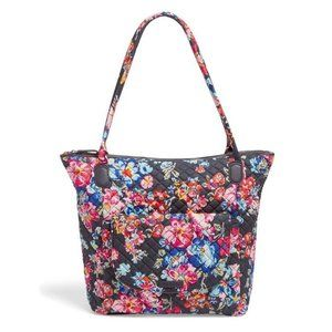 Vera Bradley Carson North South Tote Bag Posies